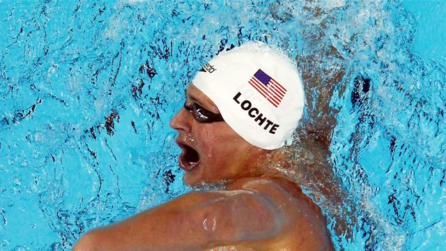 Lochte beats Phelps  - Swimming