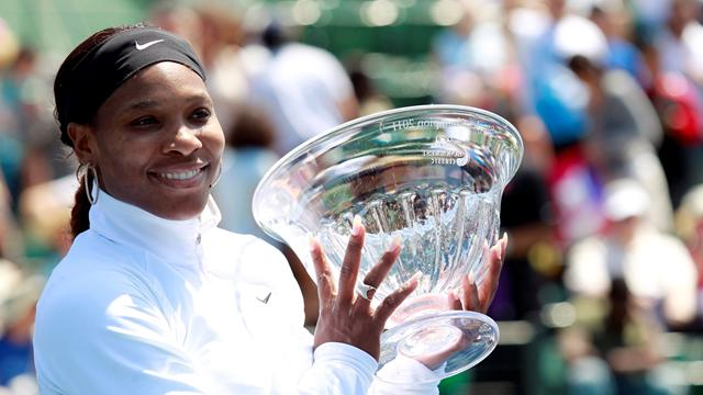 Serena happy in Stanford - Tennis