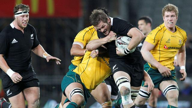 NZ 30-14 Australia - Rugby - Tri-Nations