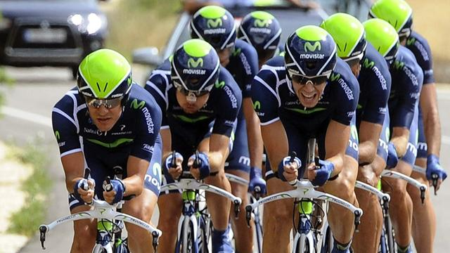 Movistar win opening TTT - Cycling - Vuelta a España