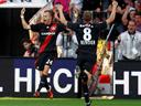 Leverkusen snatch late win