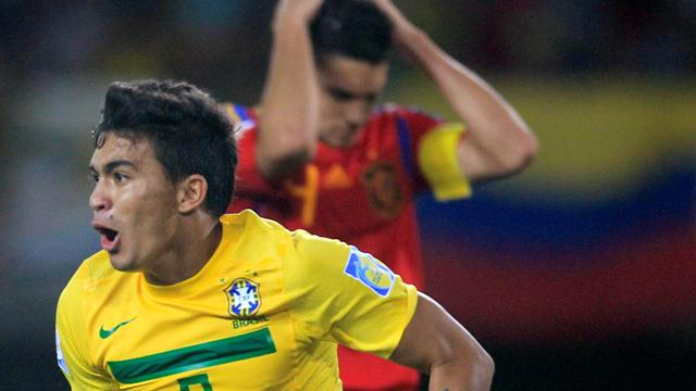 Brazil down Spain to reach U20 semi