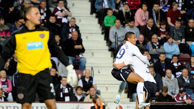 Tottenham thrash Hearts - Football - Europa League