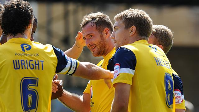 Oxford beat Swindon - Football - League Two