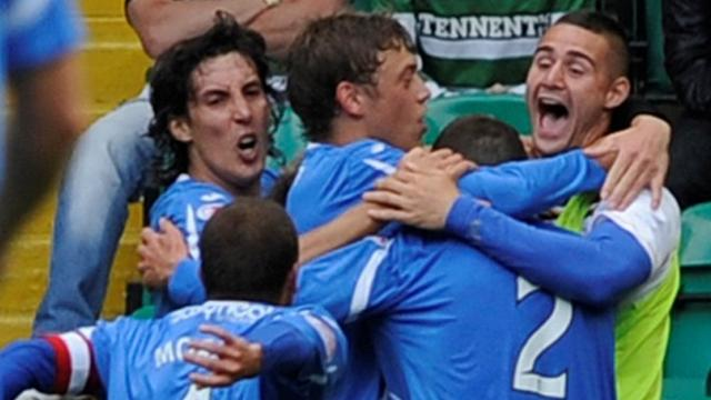 Saints stun Celtic - Football - SPL