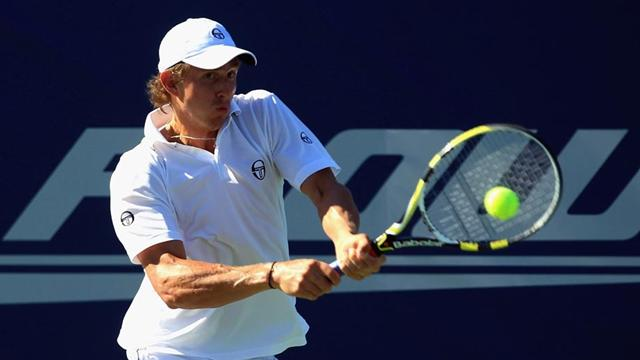 Andreev opens with upset  - Tennis