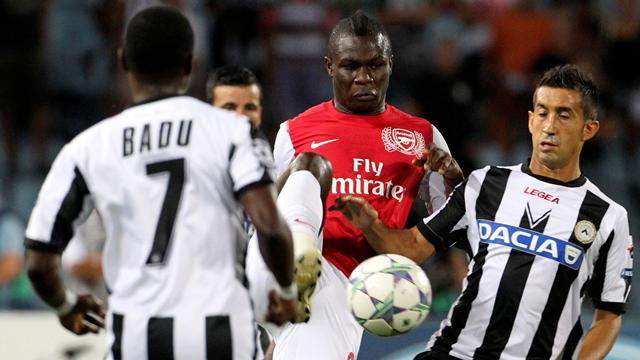 Udinese 1-2 Arsenal  - Football - Champions League