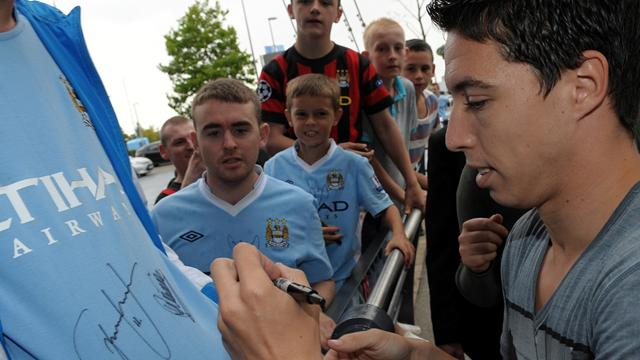 Nasri's final insult to Arsenal fans
