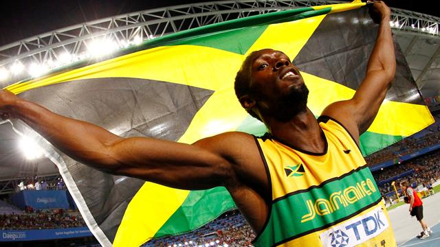 Bolt gains gold - Athletics - World Athletics Championships