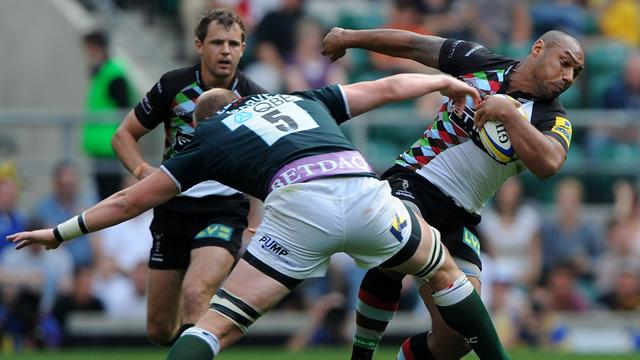 Quins edge out London Iris - Rugby - Aviva Premiership