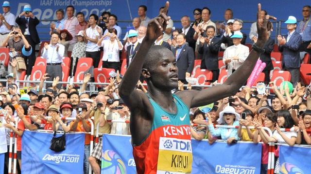 Kirui wins marathon title - Athletics - World Athletics Championships
