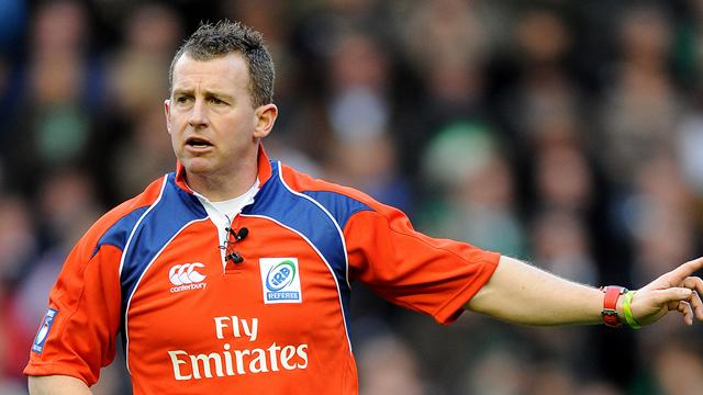 Referee: Nigel Owens - Rugby - World Cup