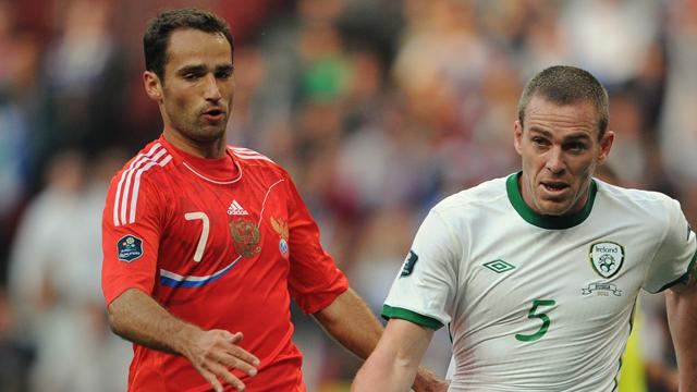 Ireland hold on for draw in Russia