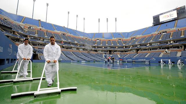 More weather issues - Tennis - US Open
