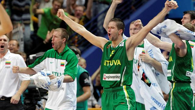 Hosts Lithuania down Serbia