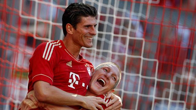 Gomez hits four as Bayern rout Freiburg