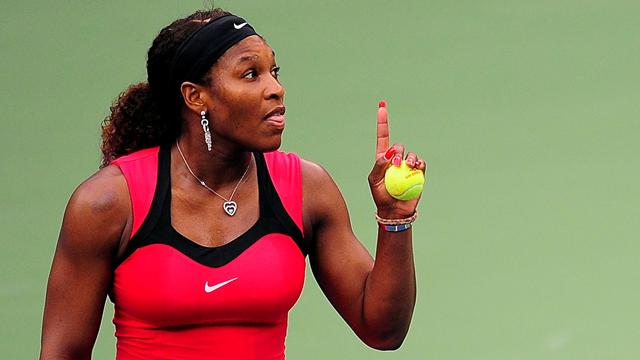 Serena fined for outburst