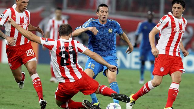 Marseille edge Olympiacos - Football - Champions League