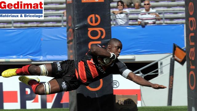 Nyanga montre l'exemple - Rugby - Top 14