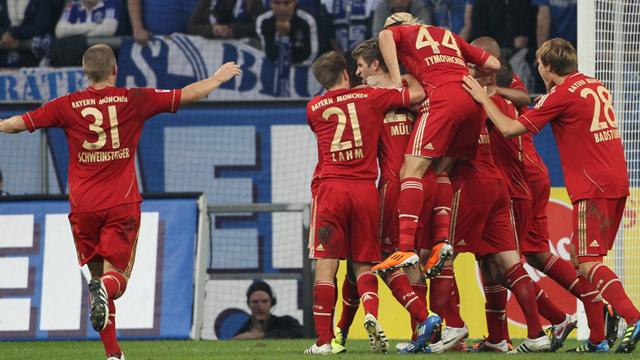 Bayern win eight straight - Football - Bundesliga