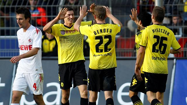 Dortmund thump Cologne - Football - Bundesliga