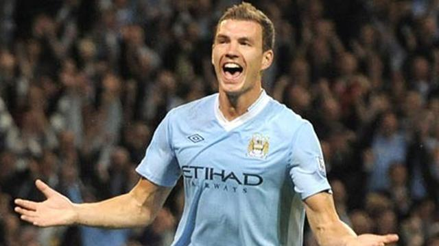 City reject Milan Dzeko link