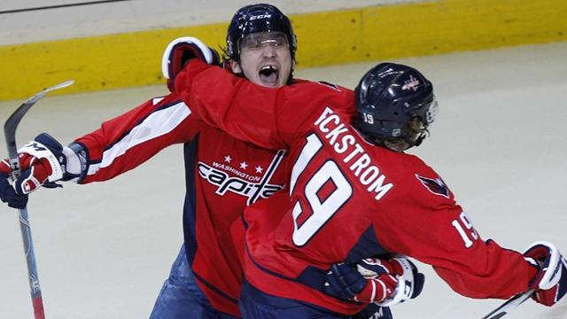Capitals edge past Ducks in OT