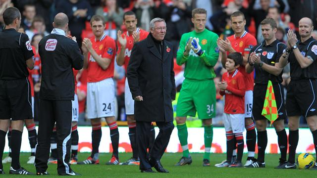 Fergie celebrates with win - Football - Premier League