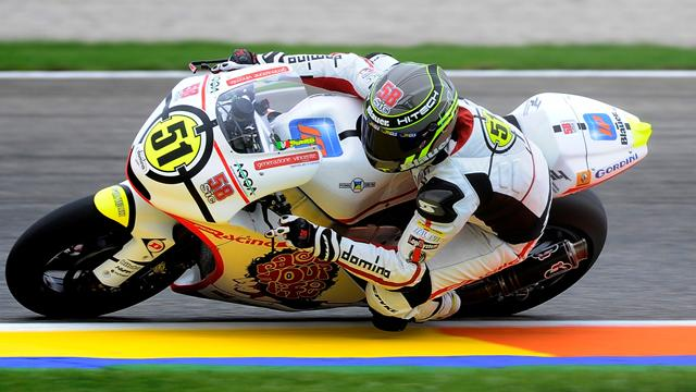 Pirro gives Gresini Moto2 victory