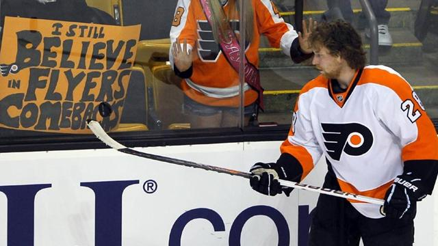 Top scorer Giroux out - Ice Hockey - NHL