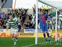 Celtic close gap