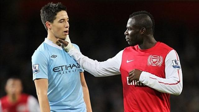No action over Nasri-Frimpong 'handbags'