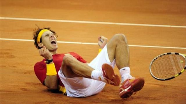 Spain clinch Cup after Nadal-Del Potro epic