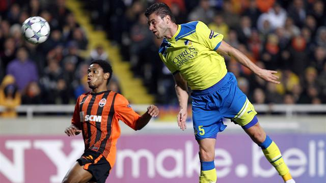Shakhtar beat APOEL - Football - Champions League