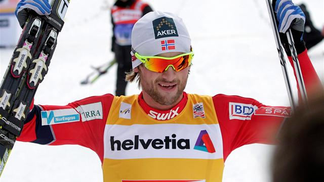 Northug moves on top at Tour de Ski