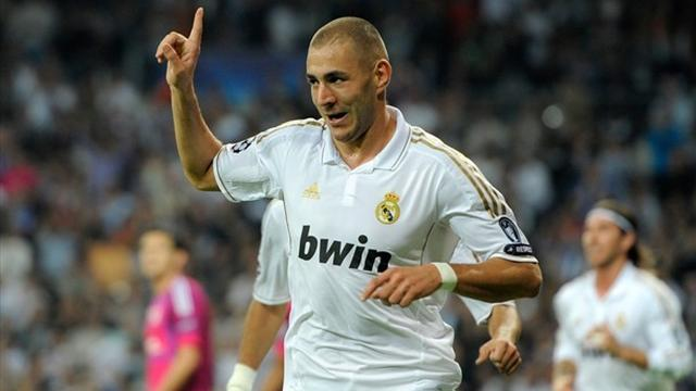 FOOTBALL 2011 Real madrid - Benzema