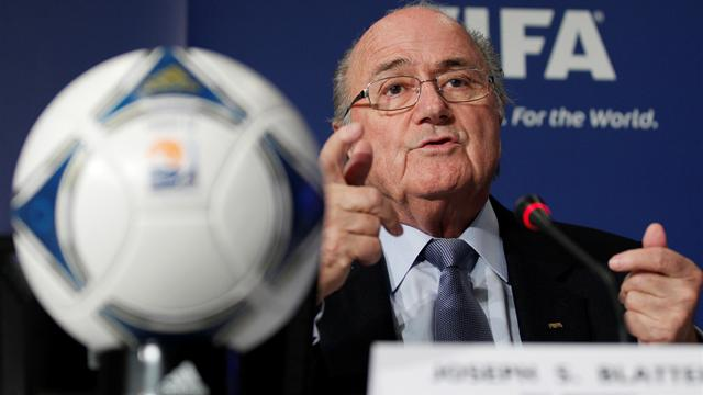 Blatter clarifies conspiracy claims