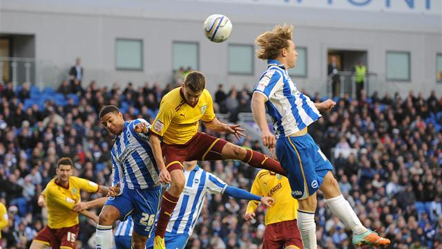 Nine-man Brighton lose - Football - Championship