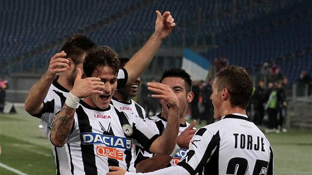 Udinese earn draw at Lazio