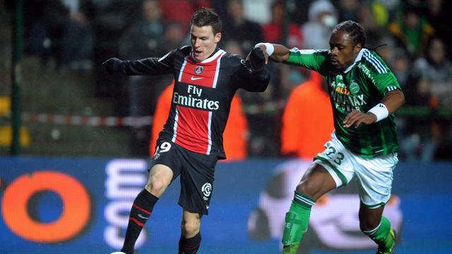 FOOTBALL - 2011/2012 - Saint-Etienne-PSG - Gameiro