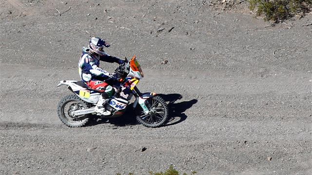 Bikes: Coma gets time back - Rally Raid - Dakar