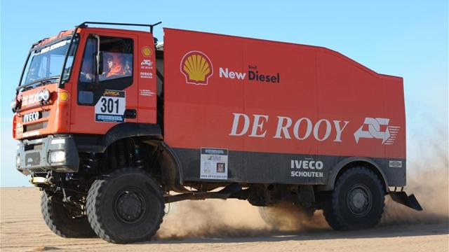 Trucks: De Rooy wins fifth stage