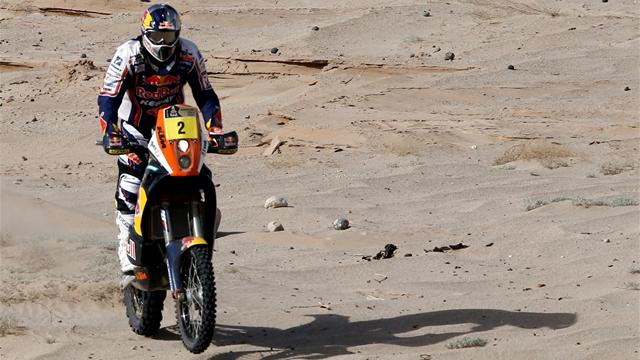 Bikes: Despres wins Dakar