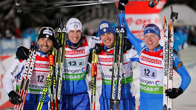 Italy win relay in shock - Biathlon