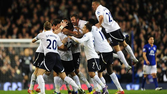 Tottenham 2-0 Everton - Football - Premier League