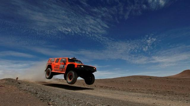 Gordon en pirate - Rallye raid - Dakar