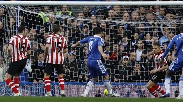 Chelsea 1-0 Sunderland - Football - Premier League