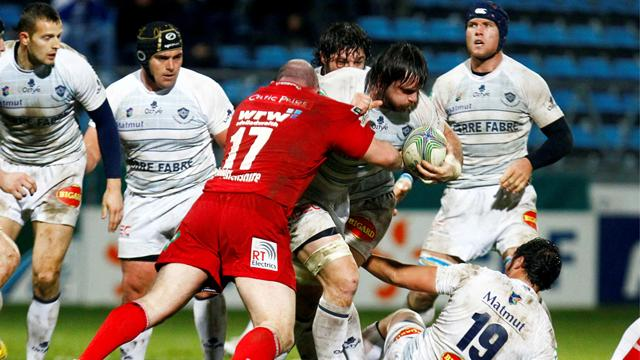 Castres finit mal - Rugby - Coupe d'Europe