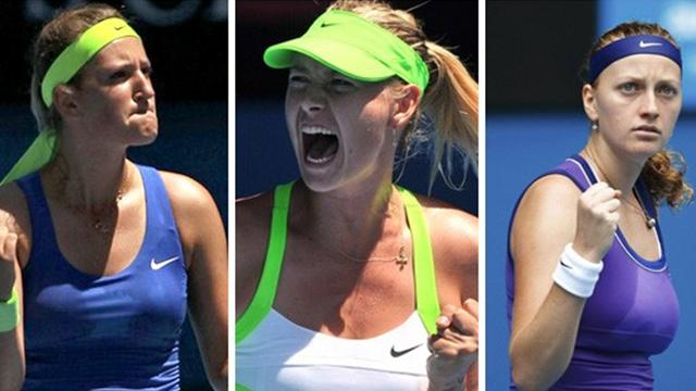 "Sharapova à la tête du ""Big Three"""