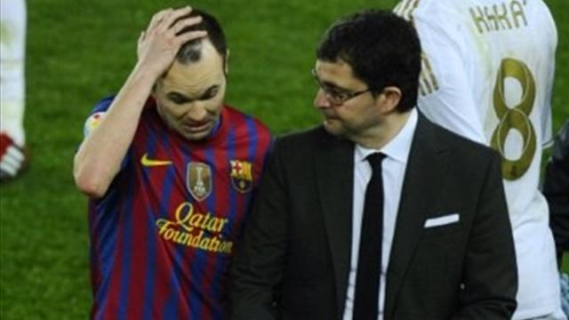 Iniesta ruled out  - Football - La Liga
